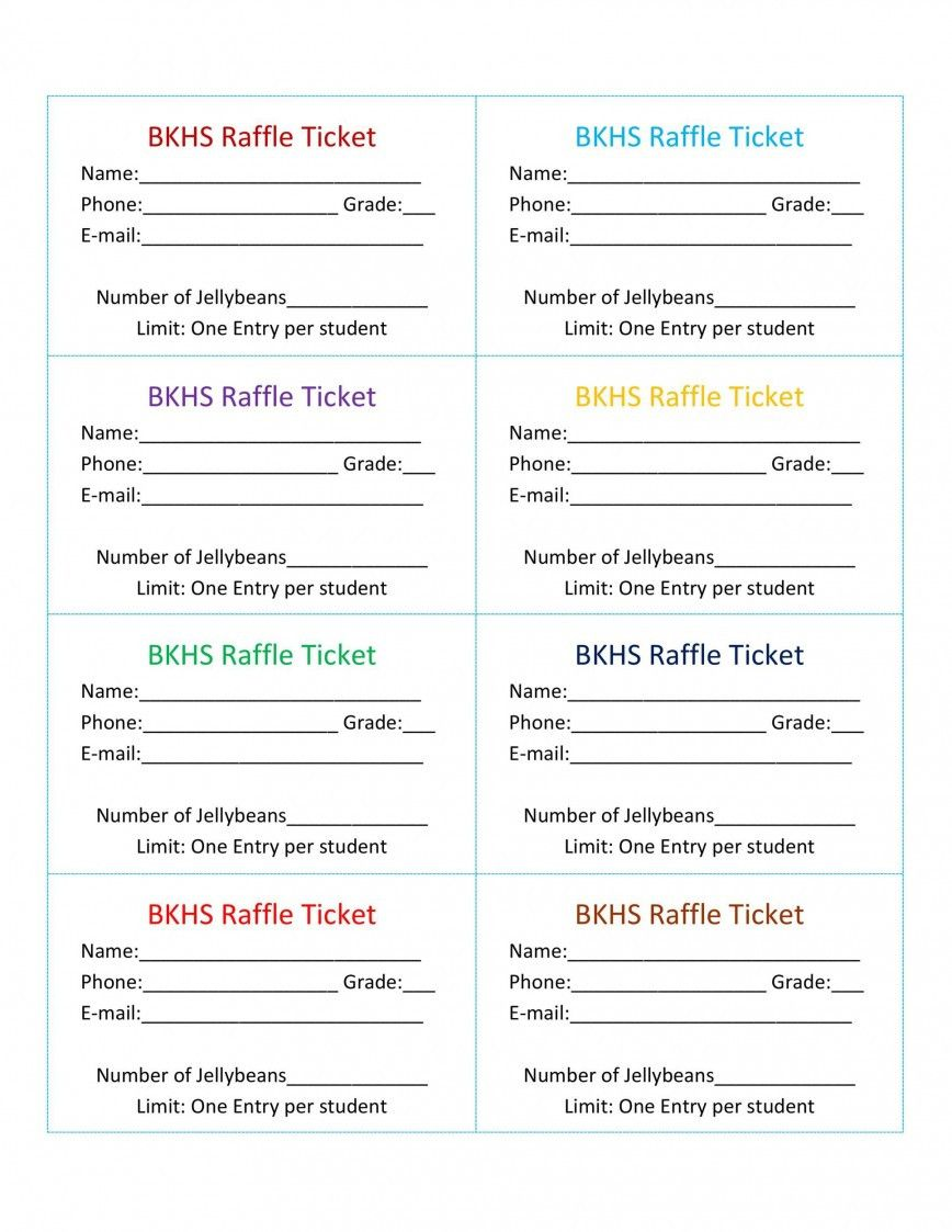 Microsoft Word Ticket Template In 2021 Raffle Ticket Template Free Raffle Tickets Template Blank Raffle Tickets - ms word ticket template