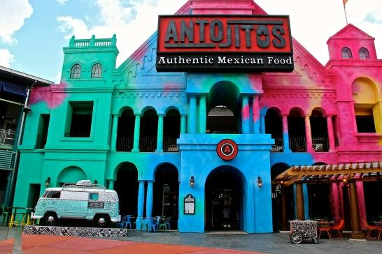 Universal Citywalk Antojitos Serves Authentic Mexican