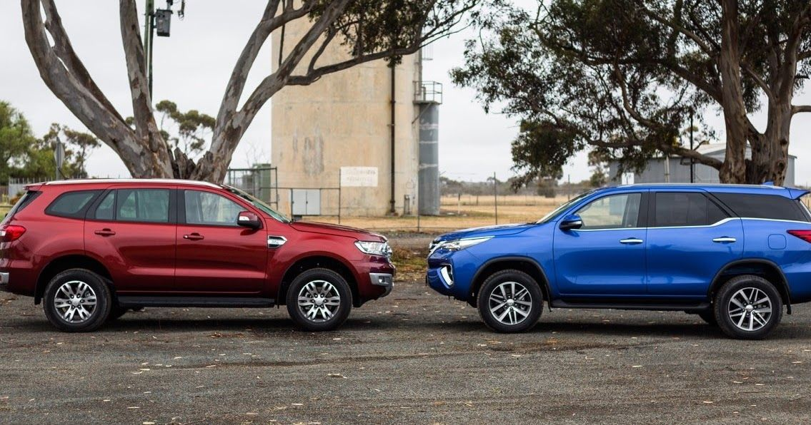 Ford Everest Vs Toyota Fortuner Toyota Ford Endeavour Ford