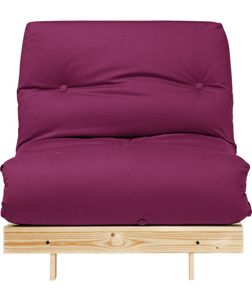 Colourmatch Single Futon Sofa Bed With Mattress Purple Fizz At Argos Co Uk Your Online For Beds Chairbeds And Futons