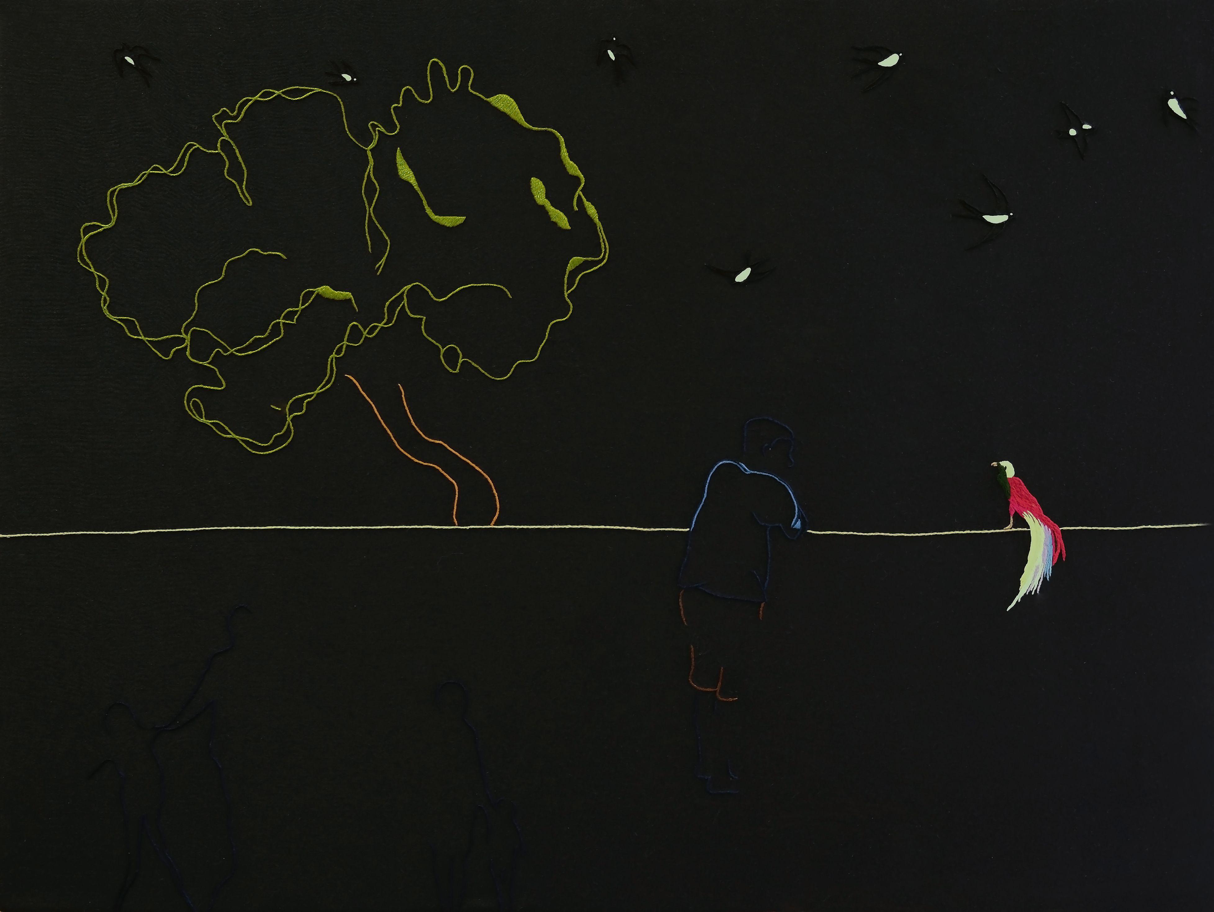 Manipolazione del vuoto: il ricamo di Gianfranco Basso