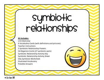 Stem Ecosystem Interspecific Relationships Symbiosis Bundled Kit