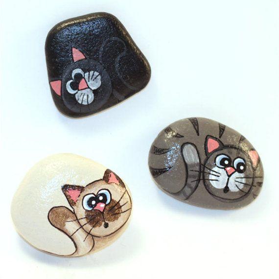 beeindruckende Steinmalideen für Kinder #animalpaintedrock #paintedrock #rockpainting #animalstoneart