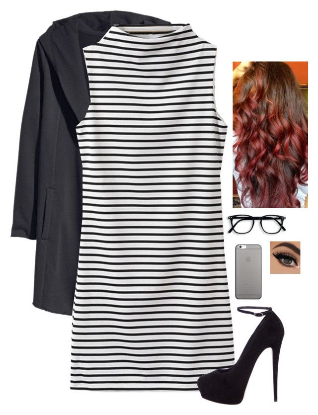 """Untitled #1405"" by erika-demass ❤ liked on Polyvore featuring H&M, Giuseppe Zanotti and Native Union"