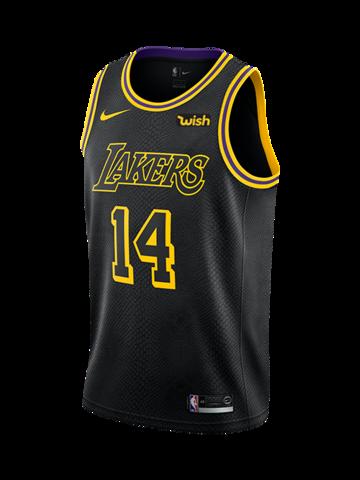 online store b8fa4 f4790 Los Angeles Lakers Brandon Ingram City Edition Swingman ...