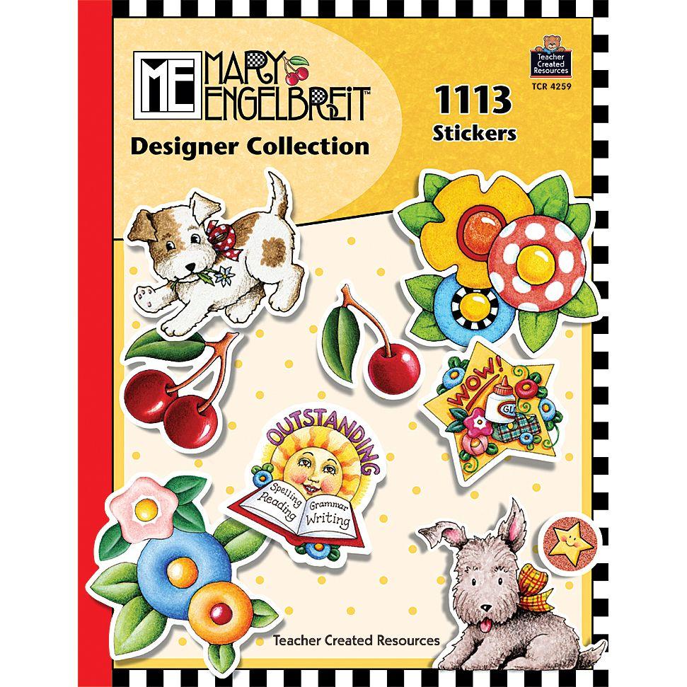 Mary Engelbreit Designer Collection Stickers Book