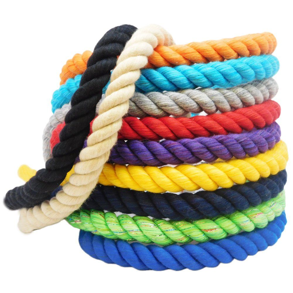 Fms Super Soft Triple Strand Twisted Cotton Rope Halloween 1 2 Inch X 640 Feet Awesome Products Sele How To Make Rope Climbing Rope Cotton Rope
