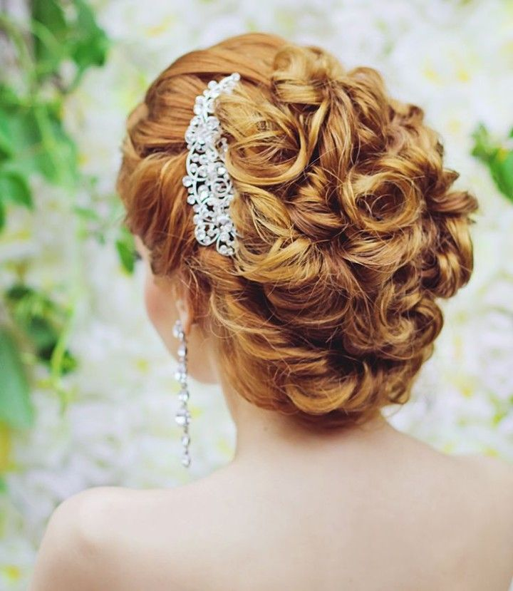 Kerala Bride Simple Hairstyle For Long Forehead: 21 Updo Wedding Hairsyles With Glamour