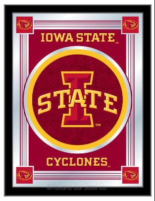 Iowa State Cyclones Logo Mirror Logo Wall Iowa State Iowa State Cyclones