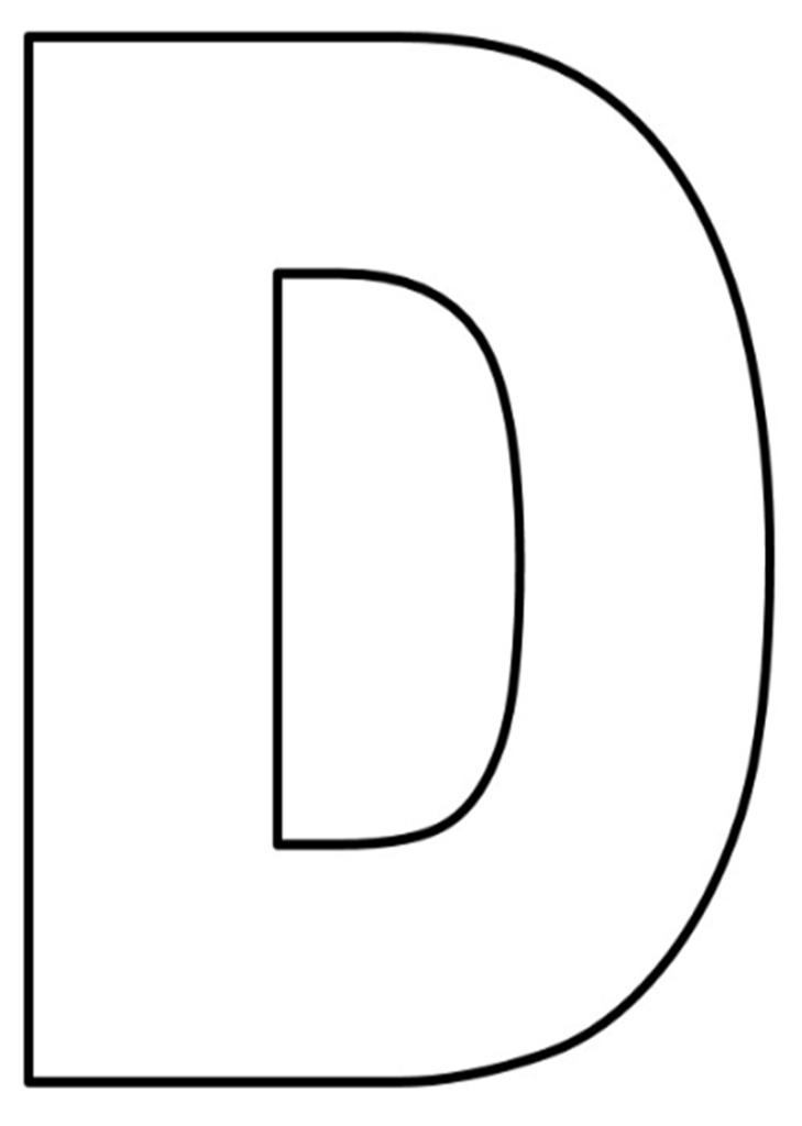 Moldes de letras grandes para imprimir molde de letras - Formas de letras para decorar ...