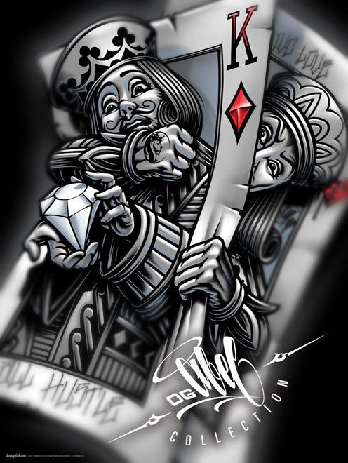 """OG Abel """"Battle King"""" Poster"""