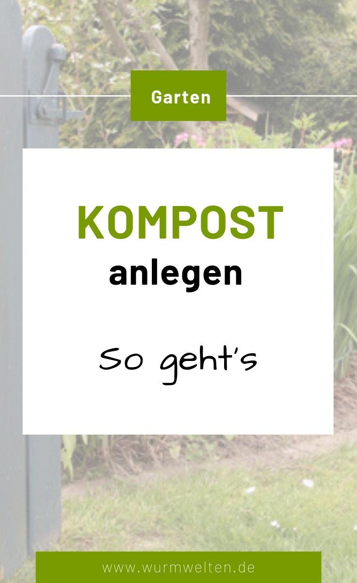 Anleitung für einen guten Komposthaufen | Wurmwelten.de
