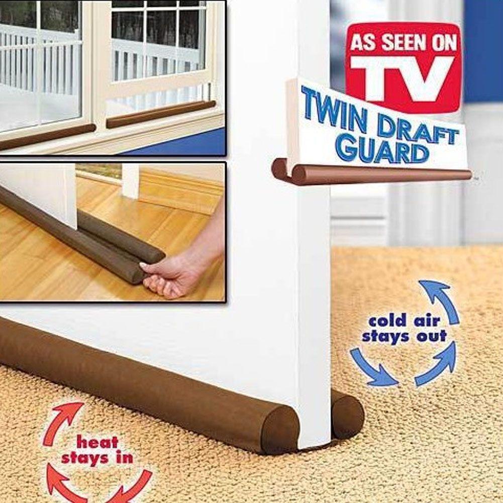 Hot Sale New Double Side 80 Cm Door Window Twin Draft Guard Dust