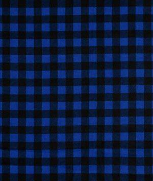 Shop Blue Buffalo Plaid Flannel Fabric At Onlinefabricstore Net
