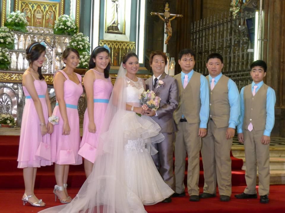 Wedding Entourage Gowns