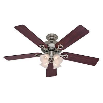 Hunter Augusta Ii Pewter Ceiling Fan 52 Inch 27553 Home Depot Canada Bronze Ceiling Fan Ceiling Fan Ceiling Fan With Light