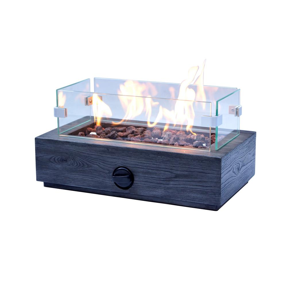 10 6 In Outdoor Propane Gas Tabletop Firepit Fp11053 The Home Depot Tabletop Firepit Outdoor Stone Fireplaces Gas Firepit Table top propane fire bowl
