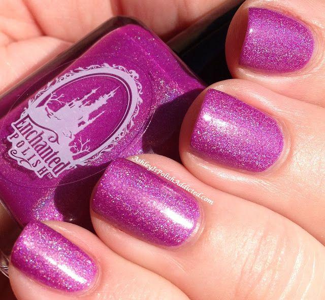 Enchanted Polish x Mishka NYC Keep Watch #nails # ...  Enchanted Polish Keep Watch