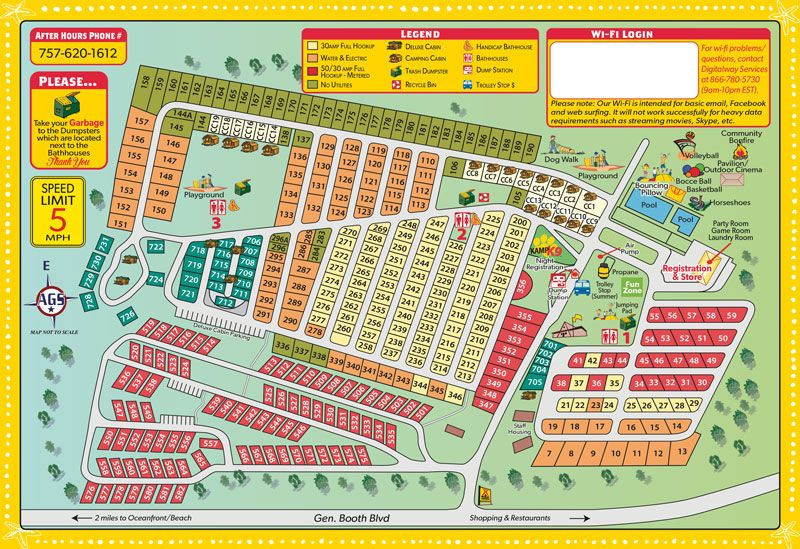 Koa Campground Virginia Beach Camping Destinations Virginia