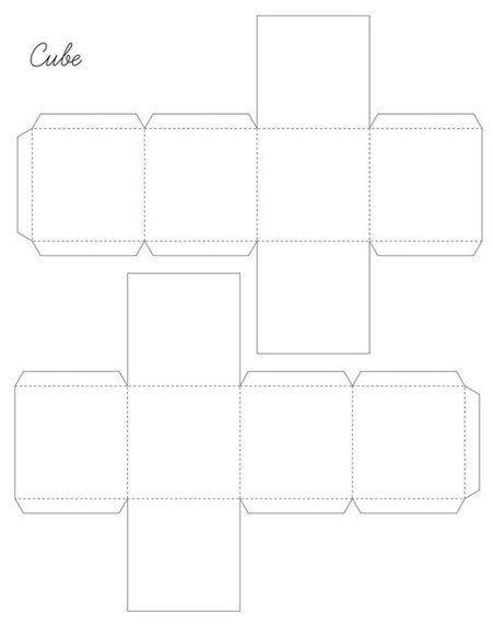 Коробочка из бумаги своими руками шаблоны распечатать 395