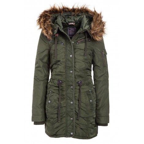 Geaca Dama Dreimaster Olive 35131445   Winter jackets
