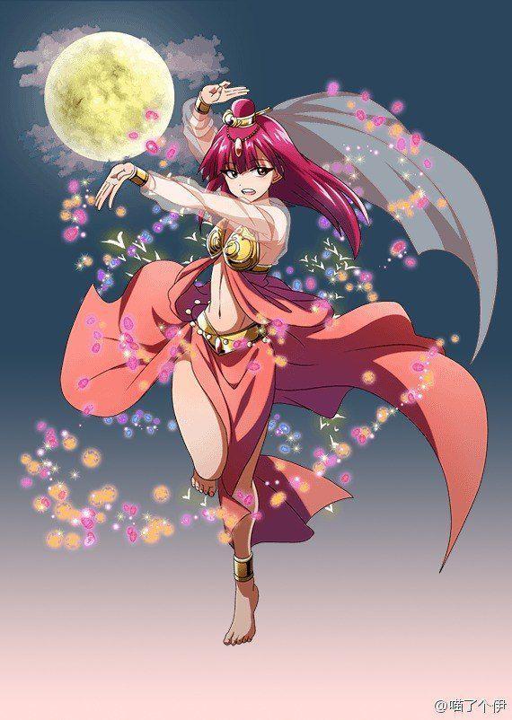 El Reino Del Oceano de Magi  - Personajes: | magi | Anime