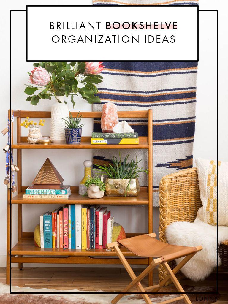Brilliant Bookshelve Organization Ideas Home Decor Interior Home