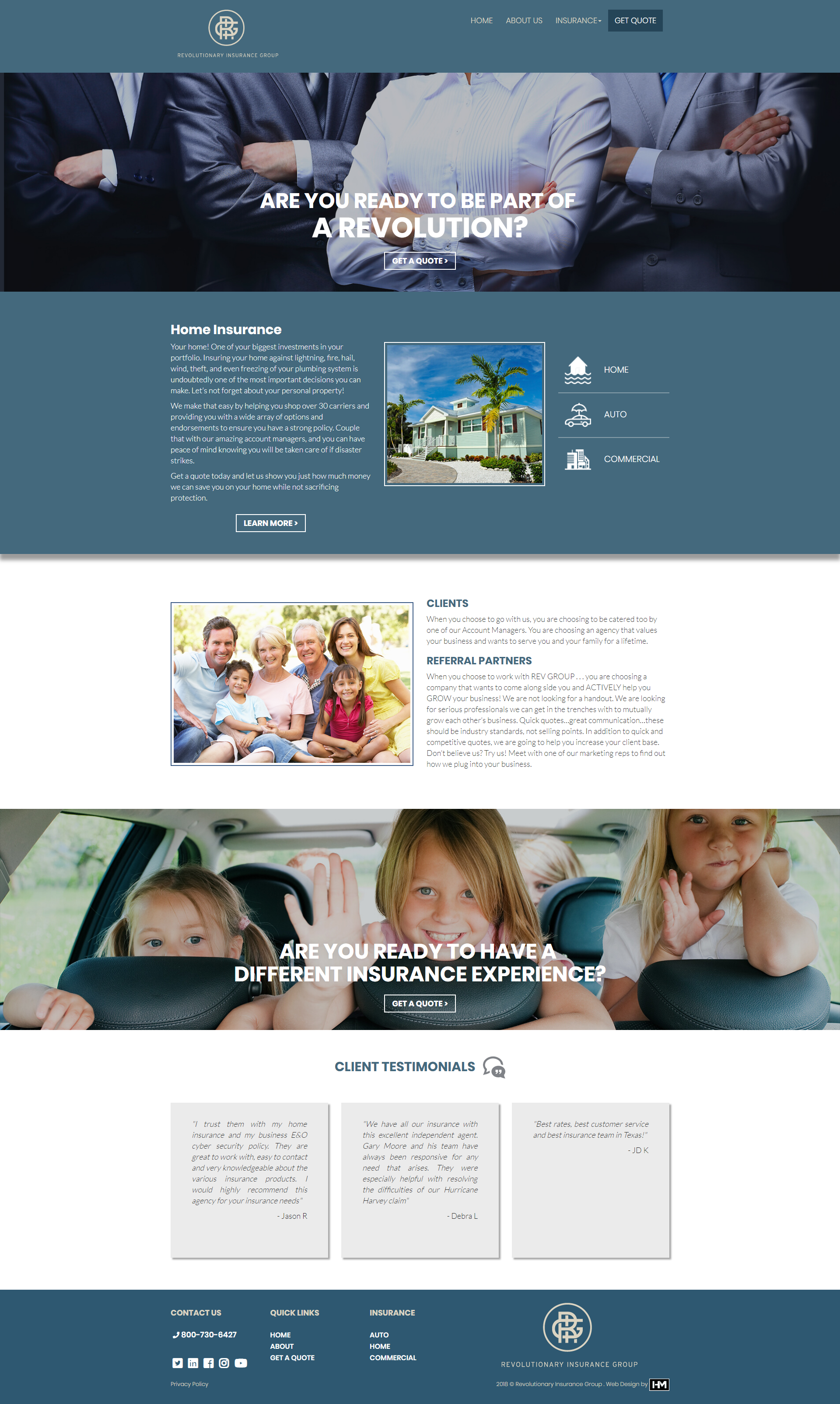 Insurance Website Design Houston Agency Website Design Web