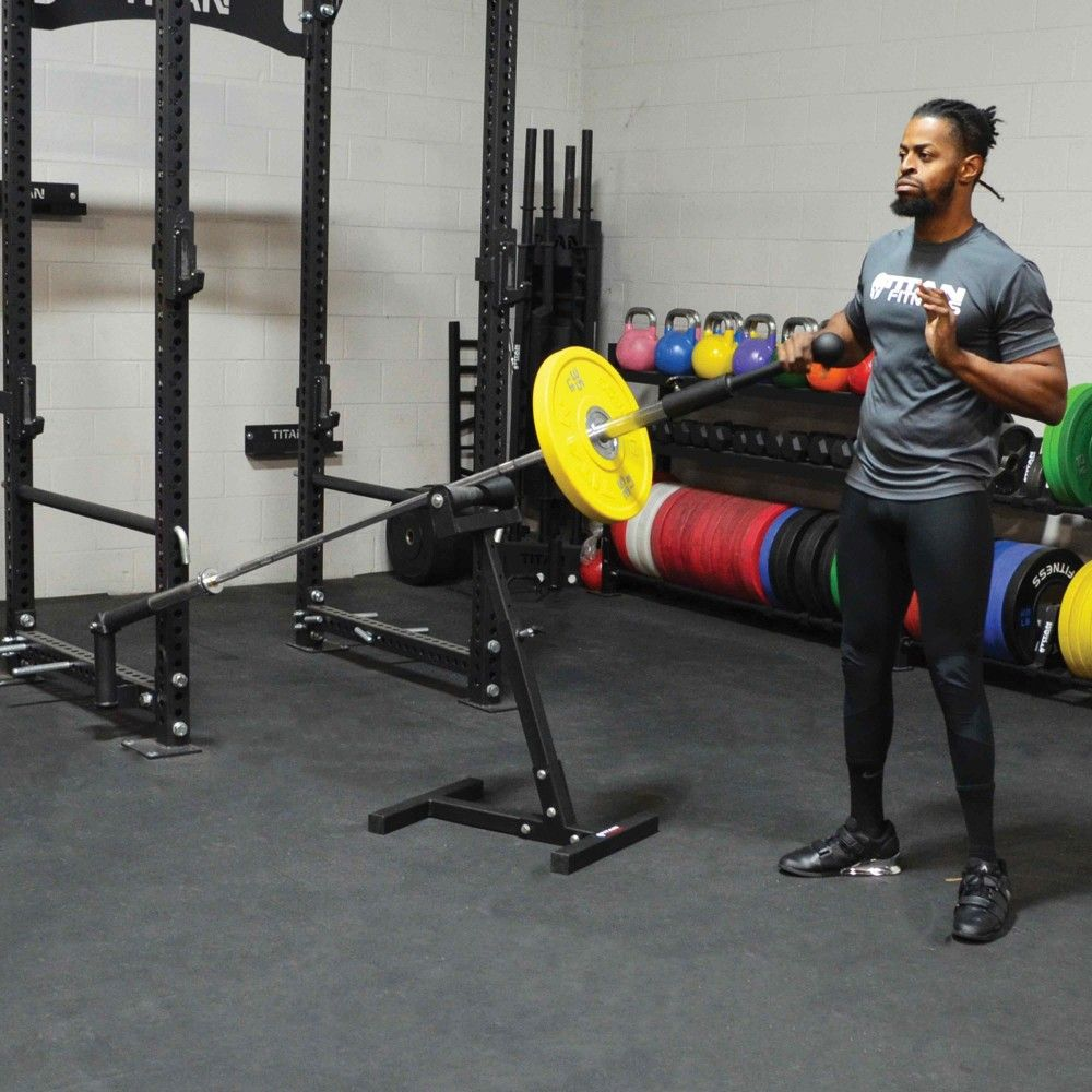 Landmine Stand Home gym design, Gym design, No equipment