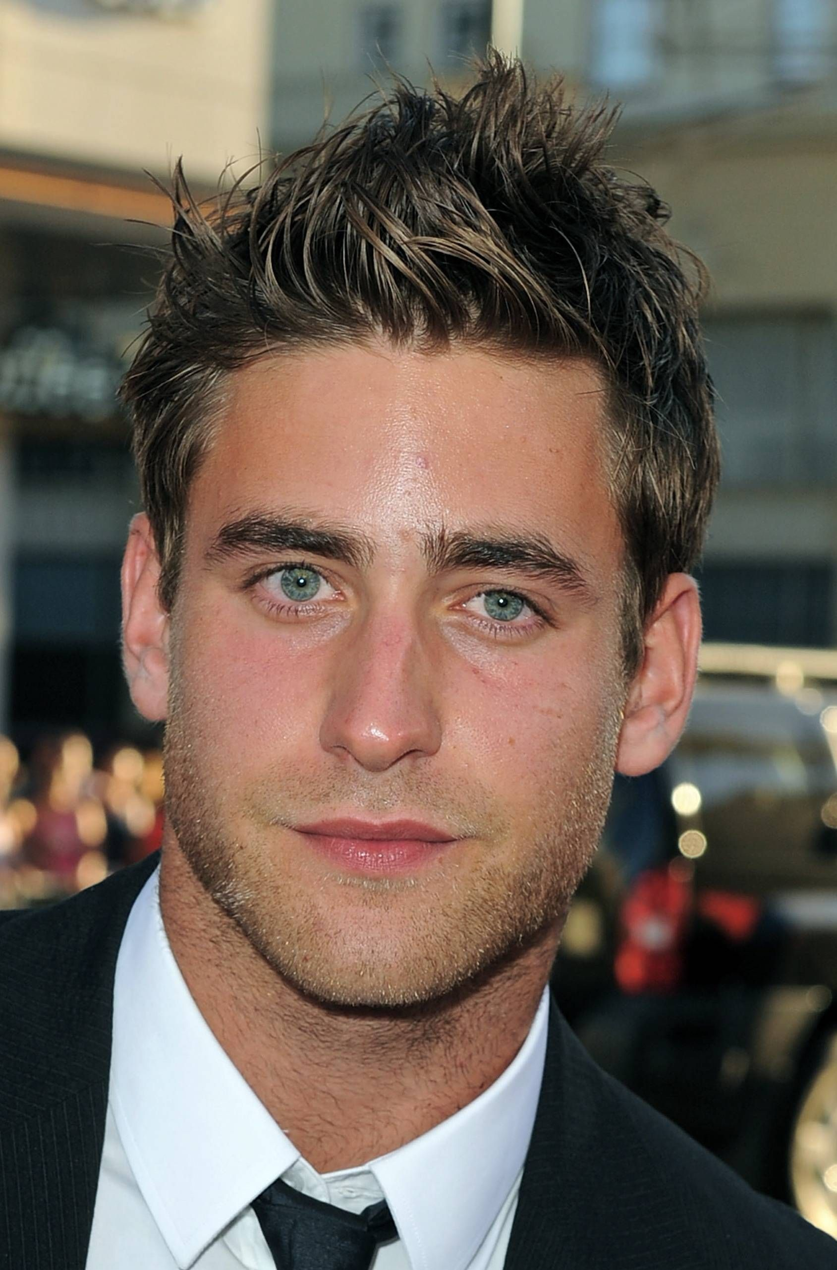 Thick Hairstyles Men Hairstyles For Men With Thick Hair  Oliver Jackson Cohen Wavy Hair