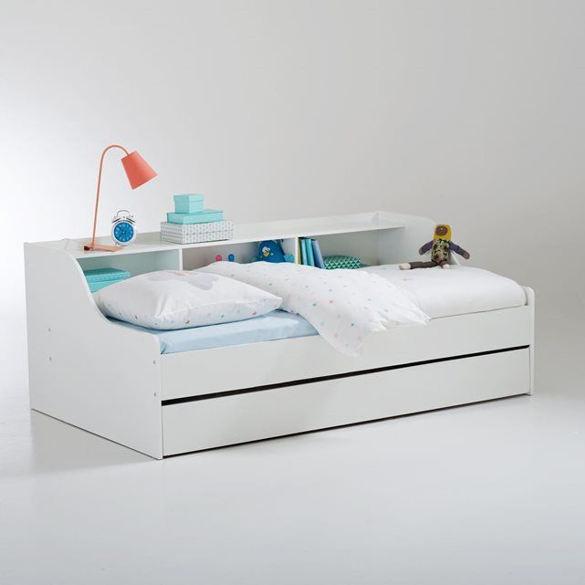 lit banquette avec tiroir et rangements