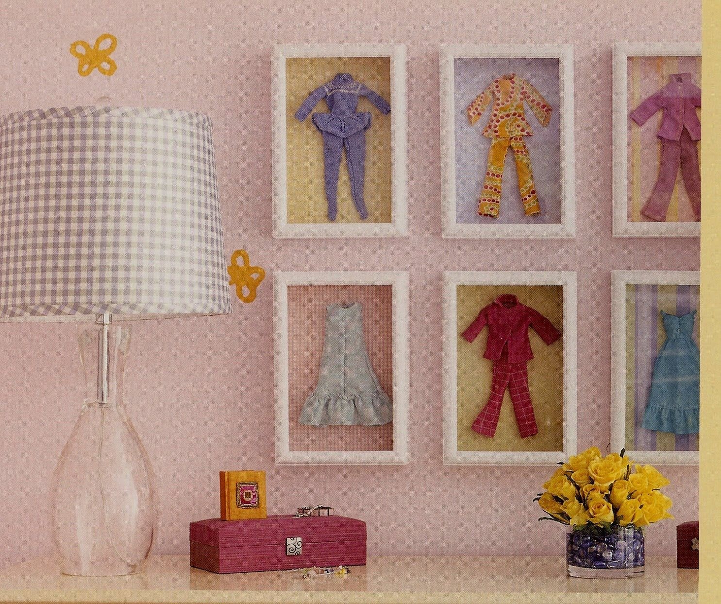 Dormitorio Barbie Cute Idea Vintage Barbie Clothes In Shadowboxes
