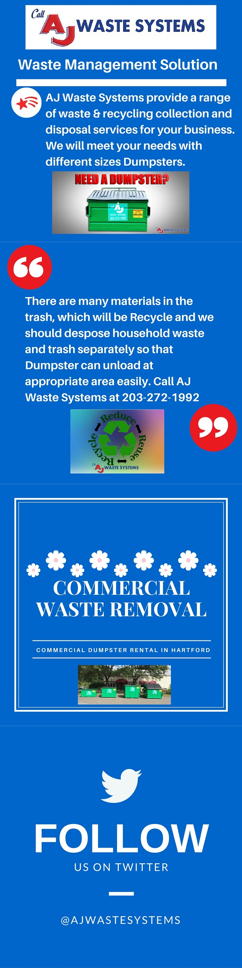 Pin by AJ Waste Systems on Commercial Waste Services