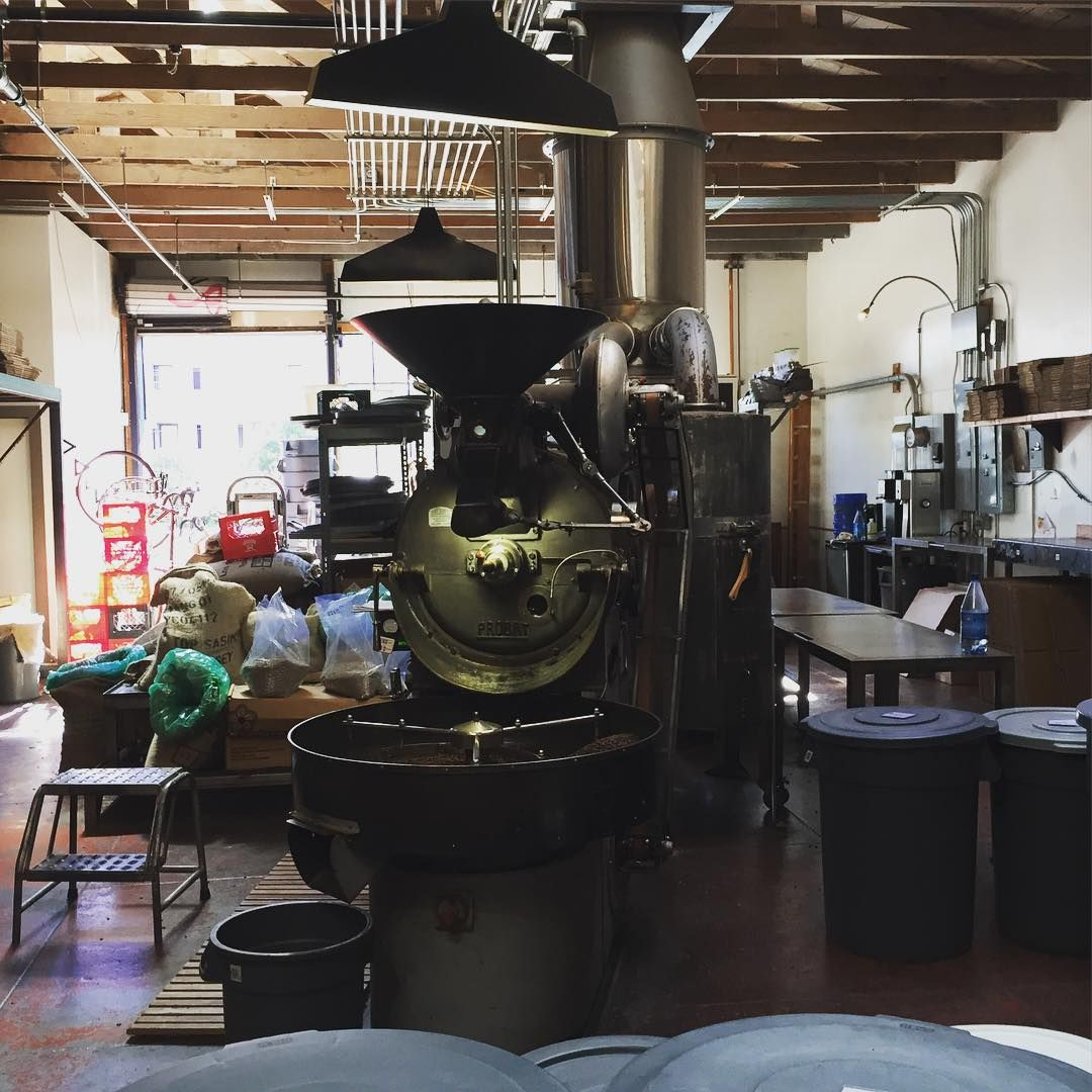 Four Barrels SF restaurant design Espresso coffee