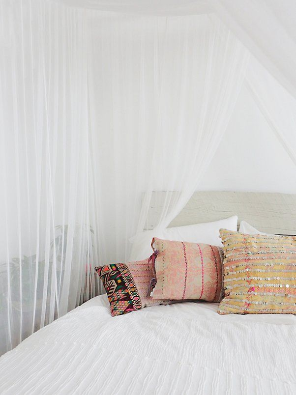 Dip Dye Four Point Queen Canopy : four point bed canopy - memphite.com
