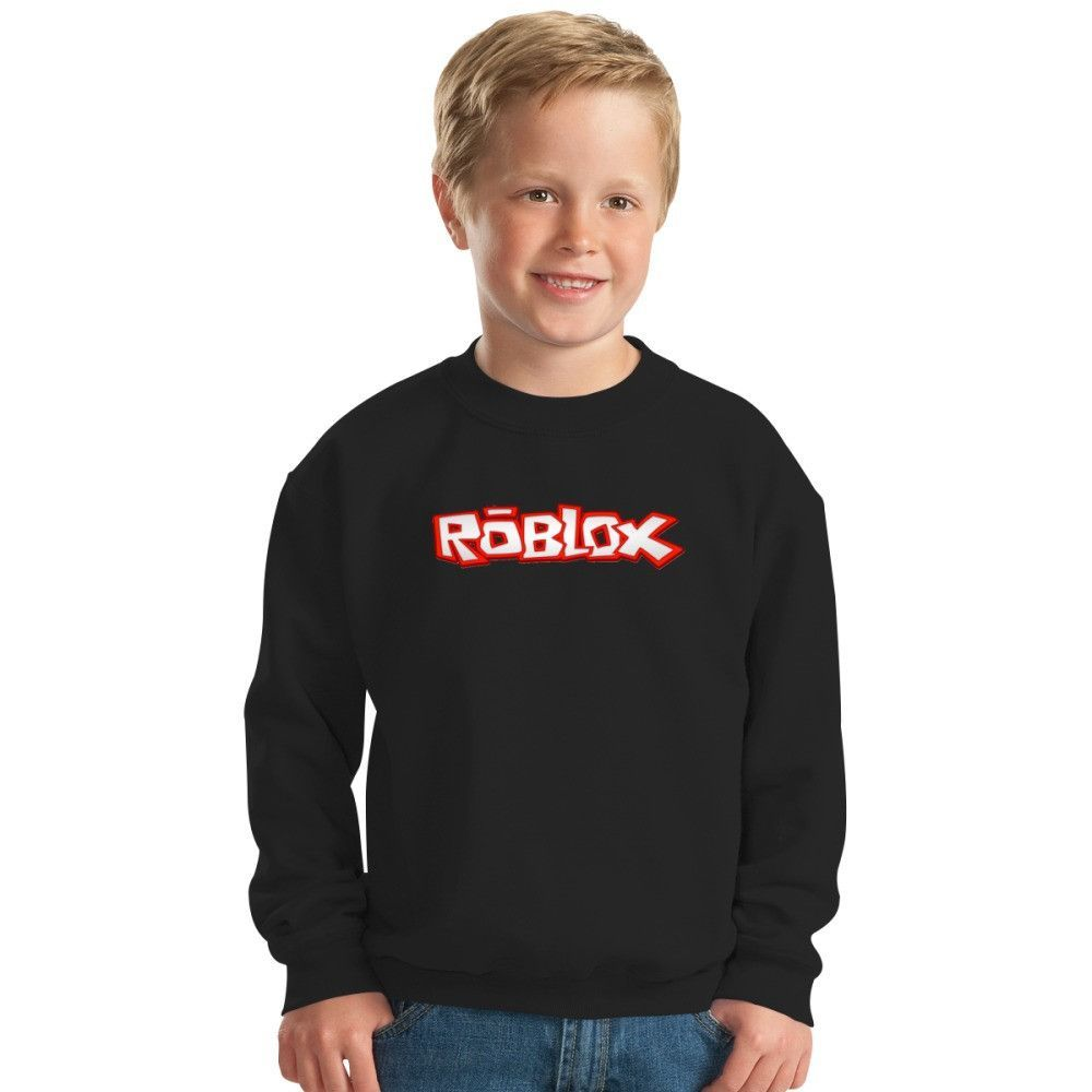 Black t shirt roblox - Roblox Title Kids Sweatshirt