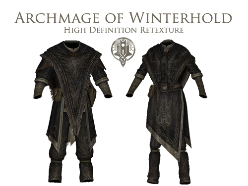 Archmage Of Winterhold Hd Retexture At Skyrim Nexus Mods And Community Skyrim Clothes Drawing Clothes Skyrim Nexus Mods