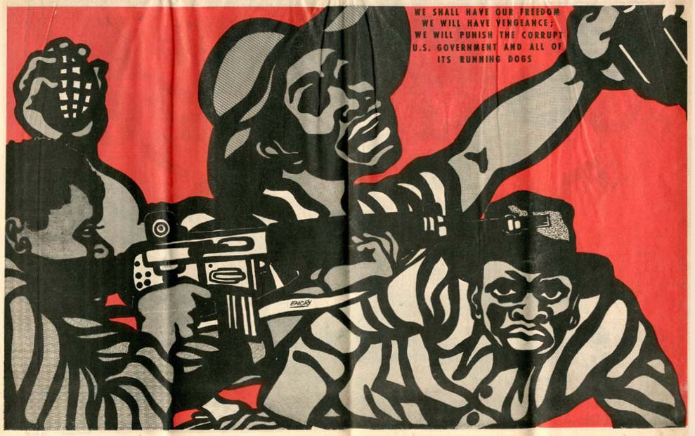 "Emory Douglas worked as the Minister of Culture for the Black Panther Party for Self Defense from 1967 until the discontinuation of the Party in the 1980s. He's been called the ""Norman Rockwell of the ghetto"", and is known for his powerful illustrations in The Black Panther newspaper often depicting poor African Americans, most of who were aggravated, outraged, and ready for a fight. Read more..."