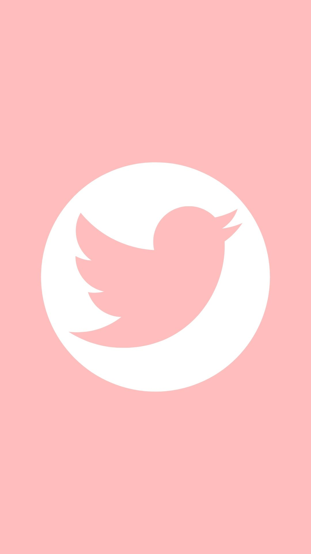 Twitter Iphone Wallpaper Tumblr Aesthetic Pink Twitter App Icon