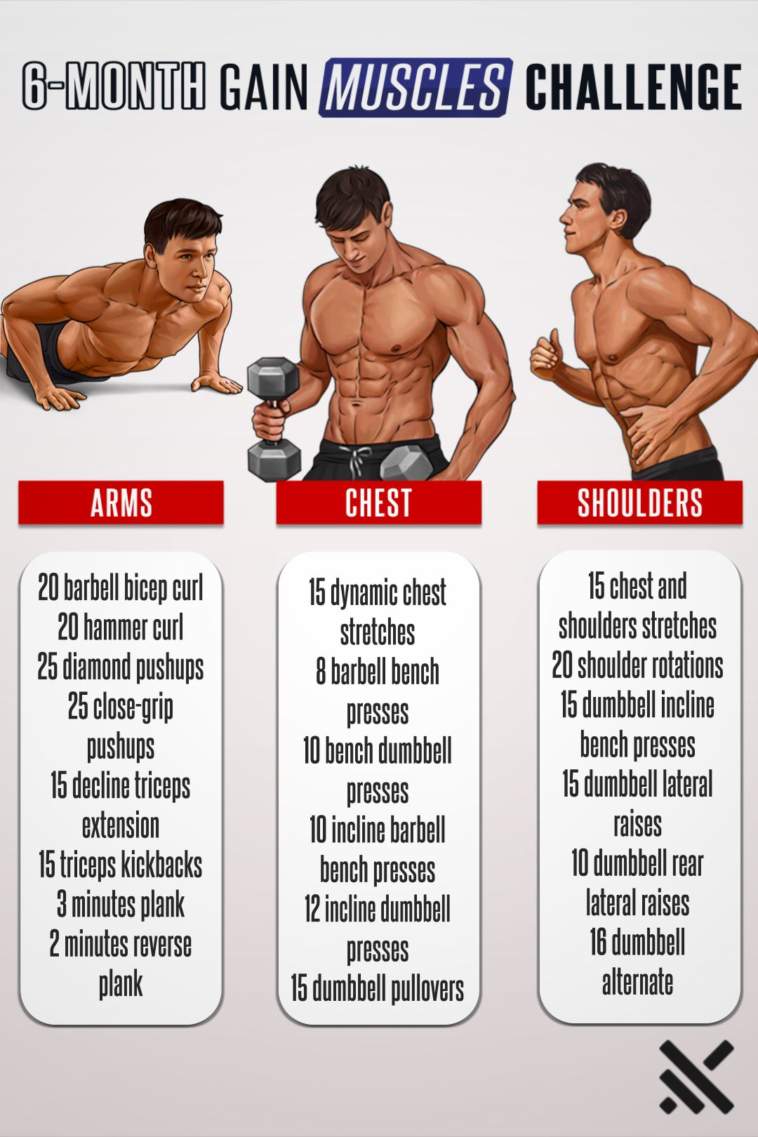 Get Prepared For Summer And Muscle Boost Yourself Gym Workout Tips Abs Workout Routines Body Workout Plan