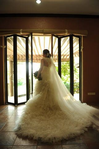 Anne & Jerwin: Bridal Gown made by Philippine designer Jorge Palmos ...