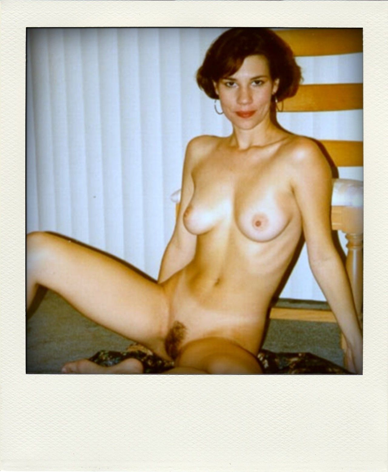 Polaroid vintage nude women and