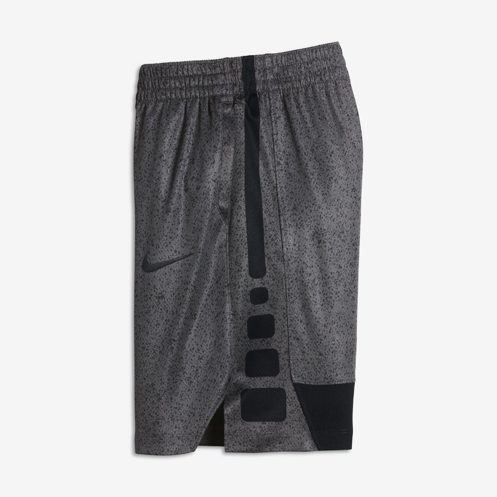 f8f96fe7aa01 Nike Dry Elite Big Kids  (Boys ) Basketball Shorts Size Medium (Black)