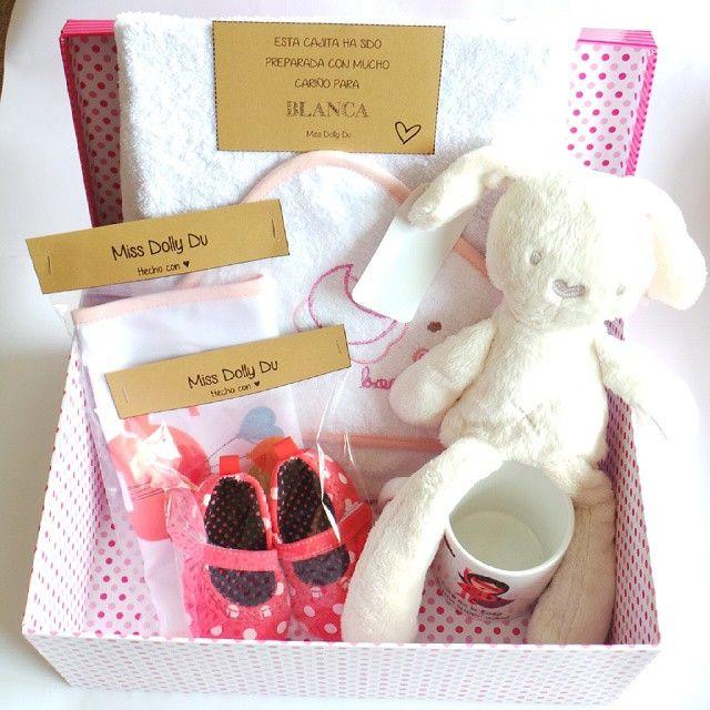 New born gift box Cajita regalo par recien nacida.