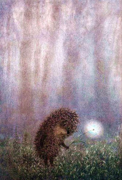 Ёжик в тумане ( картинки + красивая притча) » SFW ...