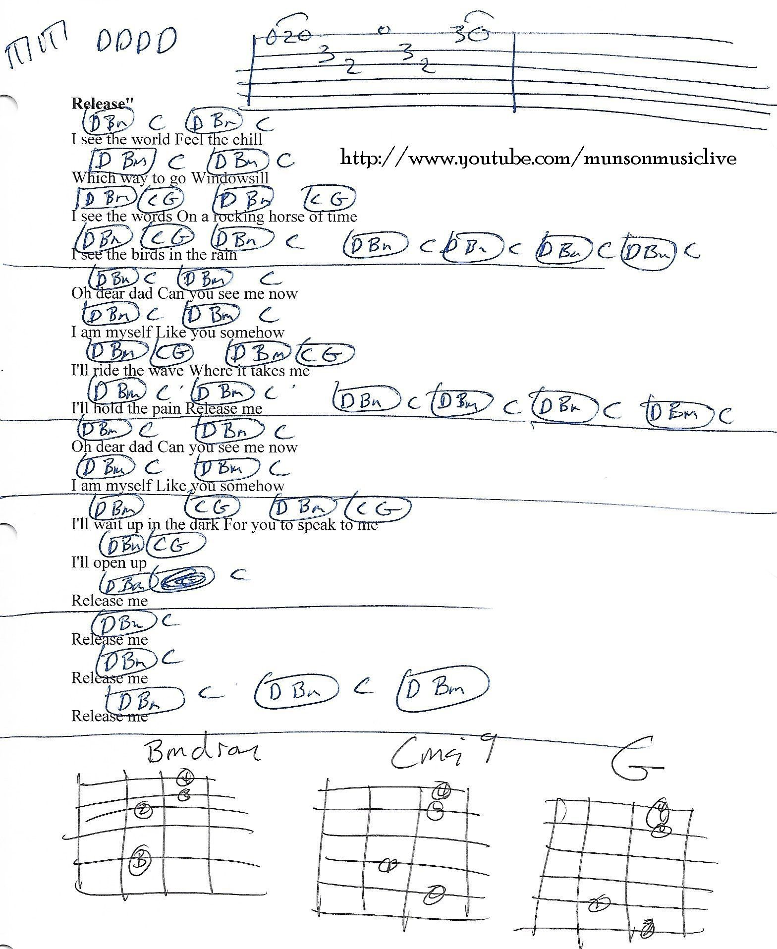 Release me pearl jam guitar chord chart guitar lessons release me pearl jam guitar chord chart hexwebz Image collections