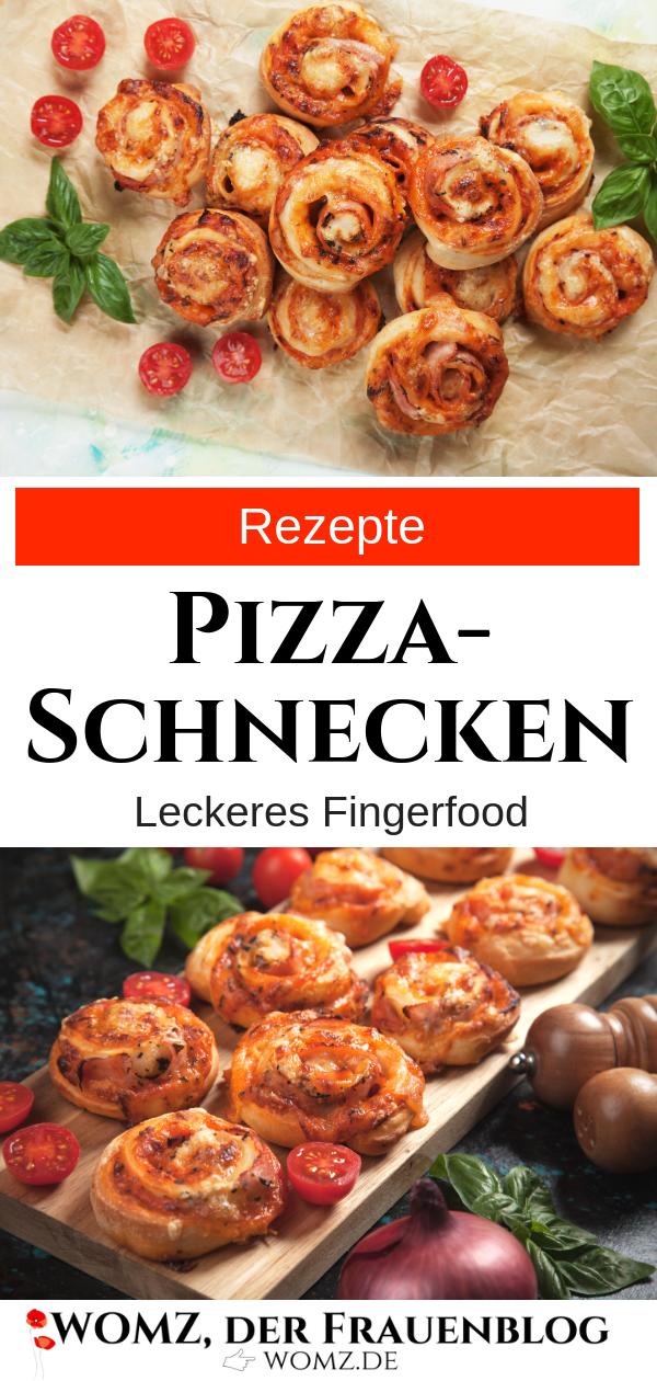Pizzaschnecken Rezept: Leckeres Fingerfood für deine Party, Geburtstagsfeier oder sonstige Pizzafans #schnellepartyrezepte