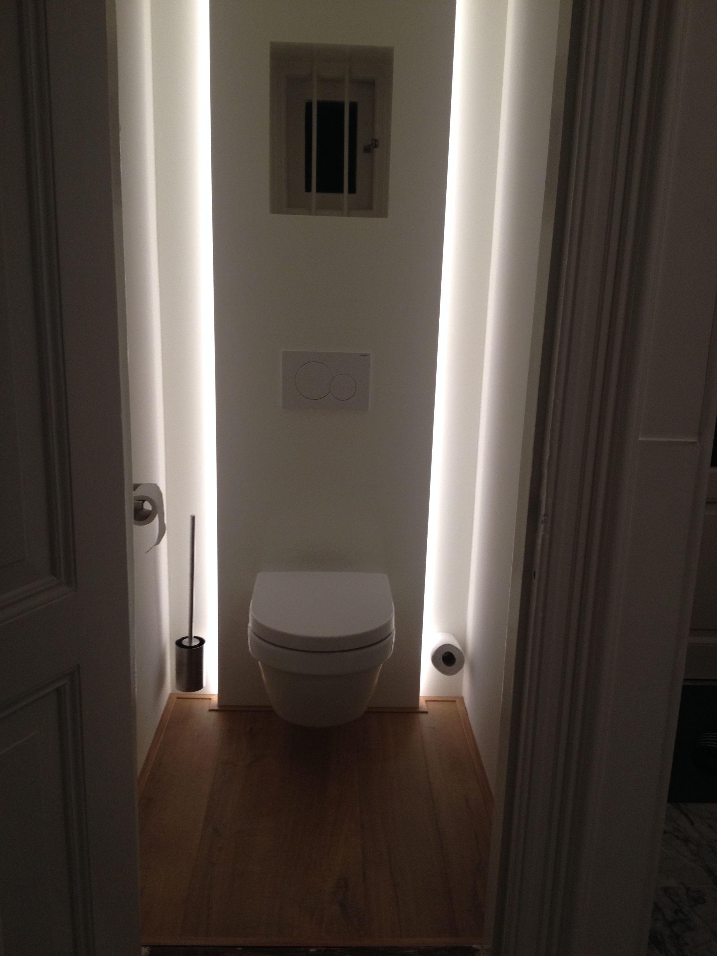Rendre Lumineuse Salle De Bain Sans Fenetre ~ Q Lichting Heeft Mooie Verlichting In De Wc Gemaakt Home Ideas