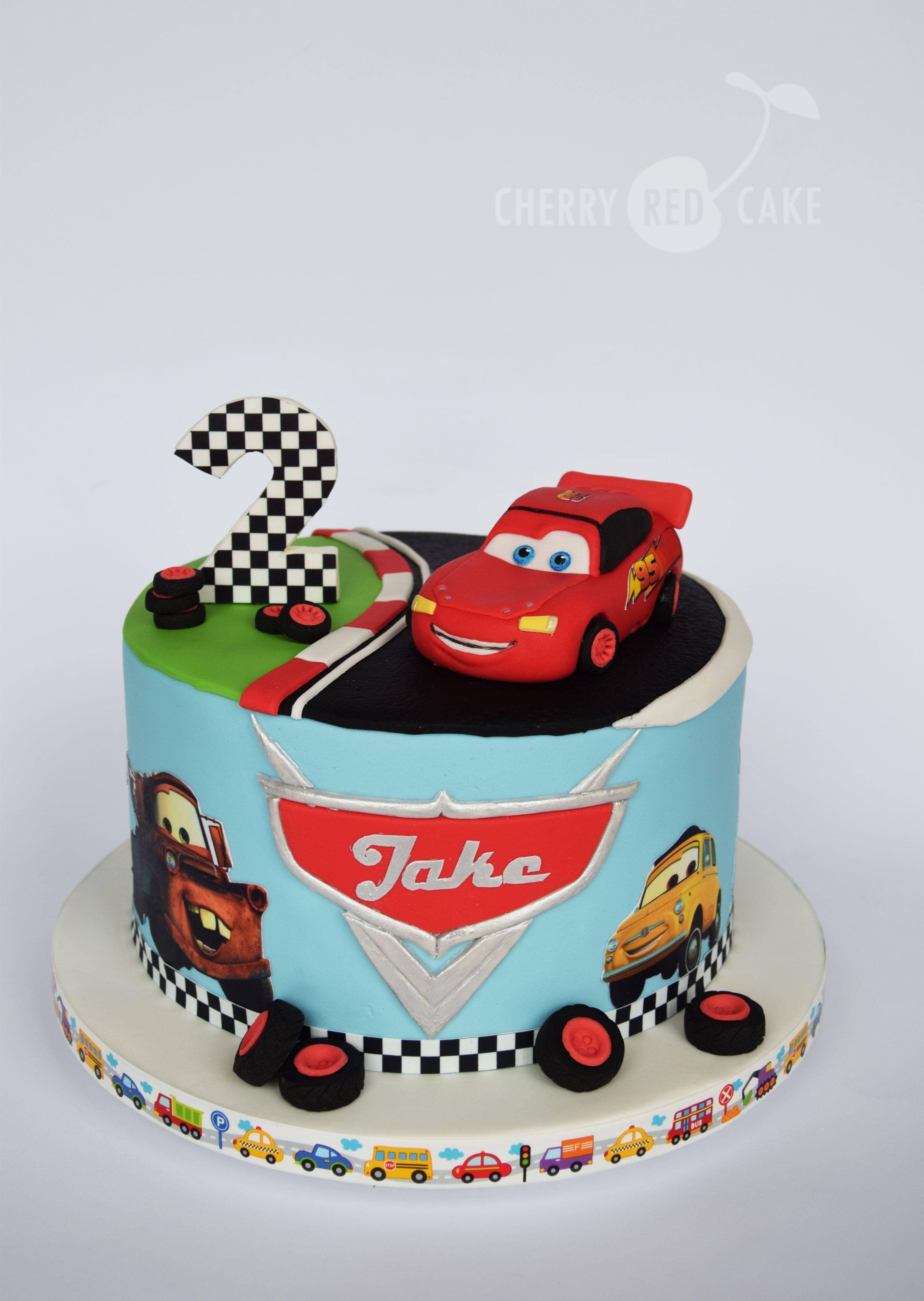 Outstanding Lightning Mcqueen Cake Design The Cake Boutique Funny Birthday Cards Online Ioscodamsfinfo