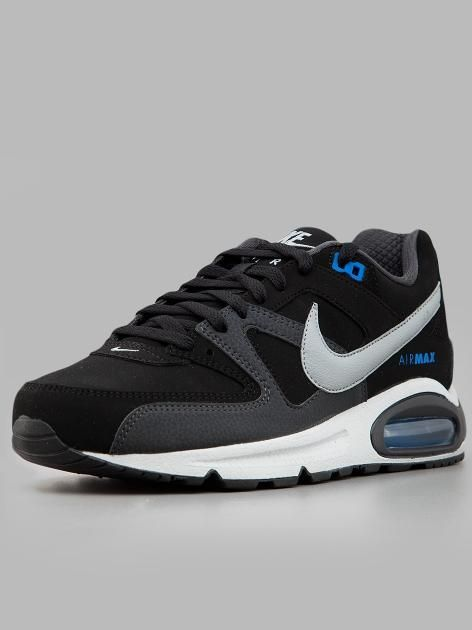shoes Nike Air Max Command Leather BlackBlackAnthracite